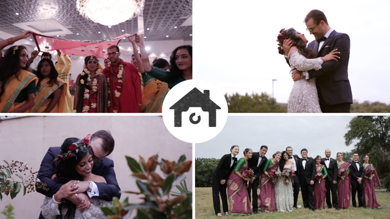 A wedding at ma maison tabeen greg love story for Wedding videographers in ma