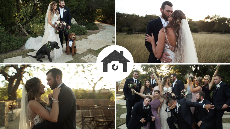A Wedding at Camp Lucy Katy Jake Love Story PhotoHouse Films