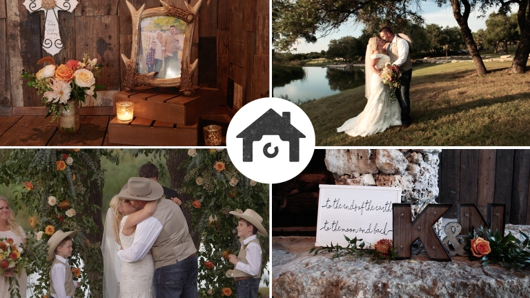 A wedding at the creek haus kelli nathan love story for Wedding videographers in ma